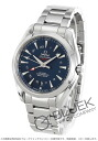 Omega Seamaster Aqua Terra co-axial chronometer GMT blue mens 231.10.43.22.03.001