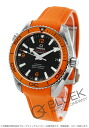 Omega Seamaster Planet Ocean co-axial 600 m waterproof rubber orange / black men's 232.32.42.21.01.001