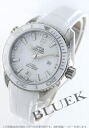 Omega Seamaster Planet Ocean co-axial 600 m waterproof leather white Womens 232.33.38.20.04.001