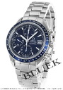 Omega Speedmaster 3212.80 chronometer chronograph date blue mens