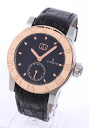 Corum Romulus large date automatic crocodile leather RG solid black mens 812.515.24 F221 BN76