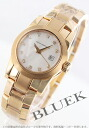 ジラールペルゴレディー F PG pure gold diamond index automatic white shell Lady's 80390.5.52.72B