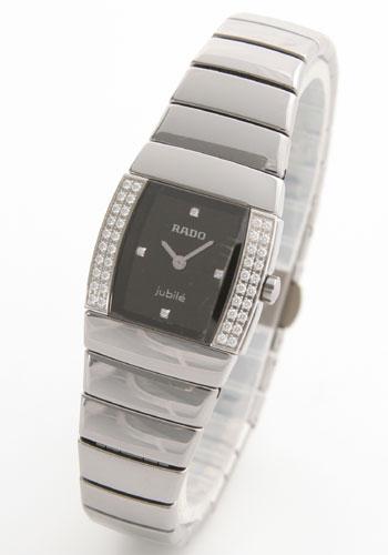 ラドー シントラ ジュビリー ダイヤモンド セラミック チタン ブラック レディース R1357.8712