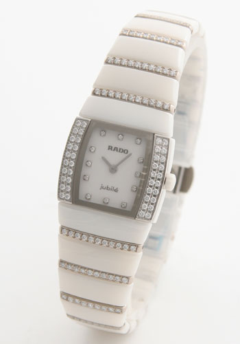 ラドー シントラ ジュビリー ダイヤモンド セラミック チタン ホワイト レディース R1363.3729