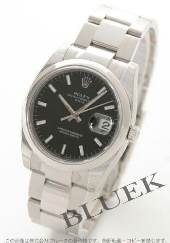 ロレックス Ref.115200 オイスターパーペチュアル デイト ブラック メンズ