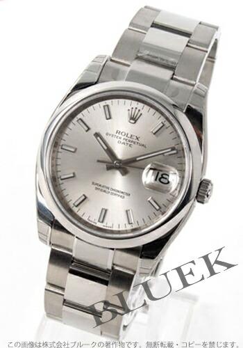 ロレックス Ref.115200 オイスターパーペチュアル デイト シルバー メンズ