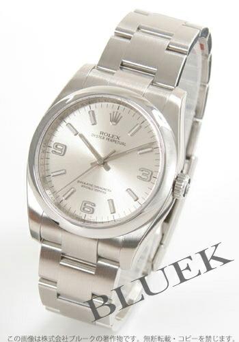 ロレックス Ref.116000 オイスターパーペチュアル シルバー ホワイトアラビア メンズ