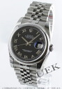 Rolex Ref.116200 Datejust Black Roman men 5-breath