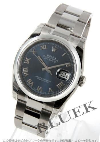 ロレックス Ref.116200 デイトジャスト ブルー ローマン メンズ