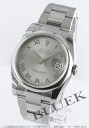 Rolex Ref.116200 Datejust grey Roman men