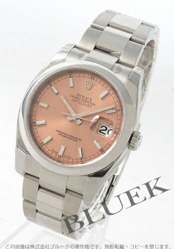 ロレックス Ref.116200 デイトジャスト ピンク メンズ