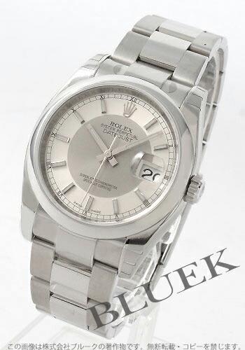 ロレックス Ref.116200 デイトジャスト シルバー&グレー メンズ