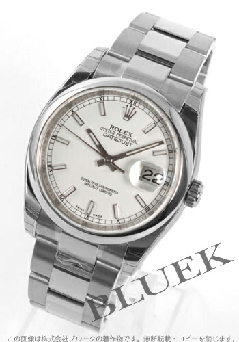 ロレックス Ref.116200 デイトジャスト ホワイト メンズ