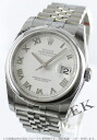 Rolex Datejust Ref.116200 5-breath White Roman men's