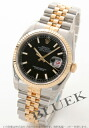 Rolex Ref.116233 Datejust YG Combi black mens
