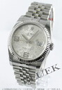 Rolex Ref.116234 Datejust flower 5-breath silver Arabian men