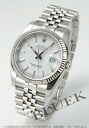 Five Xmas sale ★ Rolex Ref.116234 date just WG bezel breath white men