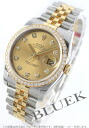 Rolex Ref.116243 Datejust YG Combi diamond 5 consecutive gold men's breath