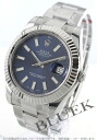 Rolex Ref.116334 Datejust WG bezel light blue men