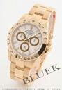 Rolex Ref.116528 Cosmograph Daytona YG pure gold white mens