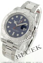 Rolex Yacht-Master the essential Ref.116622 Platinum blue mens