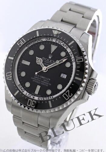 ロレックス Ref.116660 シードゥエラー ディープシー 3900m防水 ブラック メンズ