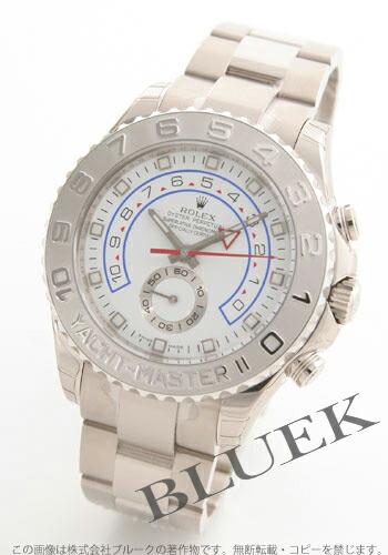 ロレックス Ref.116689 ヨットマスターII WG金無垢 ホワイト メンズ