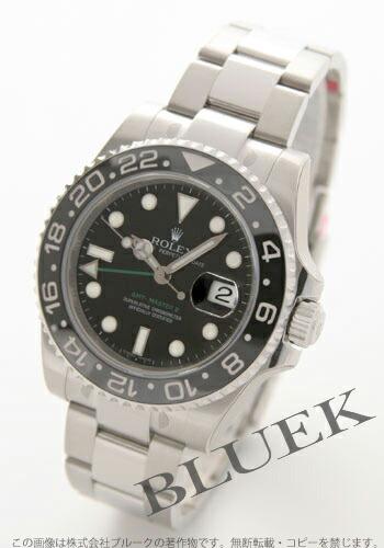 ロレックス Ref.116710 GMTマスターII ブラック メンズ