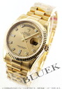 Rolex Oyster Perpetual Day-Date Watch Ref.118238 YG pure gold diamond index gold mens