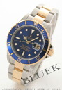 Rolex Ref.16613 submarina date YG combination blue men