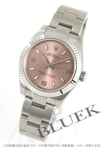 ロレックス Ref.177234A オイスターパーペチュアル WGベゼル ピンク アラビア  ボーイズ