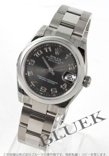 ロレックス Ref.178240 デイトジャスト ブラック(コンセントリック) アラビア ボーイズ