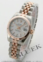 Rolex Ref.179171 date just PG combination white Lady's
