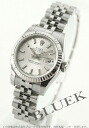 Five Xmas sale ★ Rolex Ref.179174 date just WG bezel breath silver Lady's
