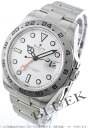Rolex Ref.216570 Explorer II GMT white mens