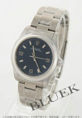 ロレックス Ref.77080 オイスターパーペチュアル ブルー アラビア ボーイズ