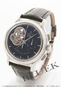 Zenith Kurono master T opening alligator leather black men 03.0240.4021/22.C495