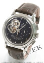 Zenith Chronomaster T open El Primero chronograph power reserve with crocodile leather Brown men's 03.0240.4021/75.C496