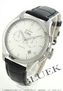 Zenith Grand class elite chronometer alligator leather Black / Silver mens 03.0520.4002/01.C492