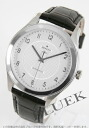 Zenith class elite automatic leather Black / Silver mens 03.0520.679/02.C492