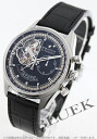 Zenith L primero Kurono master opening power reservation chronograph alligator leather black men 03.2080.4021/21.C496