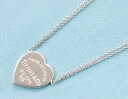 Xmas sale ★ Tiffany TIFFANY&CO. Heart sterling silver necklace 29633452