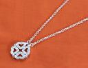 Folli follie FOLLIFOLLIE clover heart 2WAY necklace silver 3N1F033C