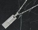 Gucci GUCCI trademark necklace sterling silver 145170