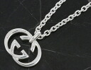 Gucci by GUCCI double G necklace sterling silver 190484