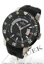Edox class one automatic day-date ceramic bezel titanium divers rubber black mens 83005 TIN NIN