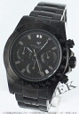Michelle Jordan sports chronograph tachymeter 2P diamond black men SG8000-BKBK