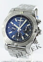 Brightman ring wind rider Kurono mat chronometer chronograph blue & black men A011C89PA