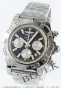 Brightman ring wind rider Kurono mat chronometer chronograph brown & silver men A011Q75PA
