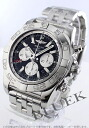 Breitling Wind Rider chronomat GMT chronometer chronograph black & silver men's A041B69PA